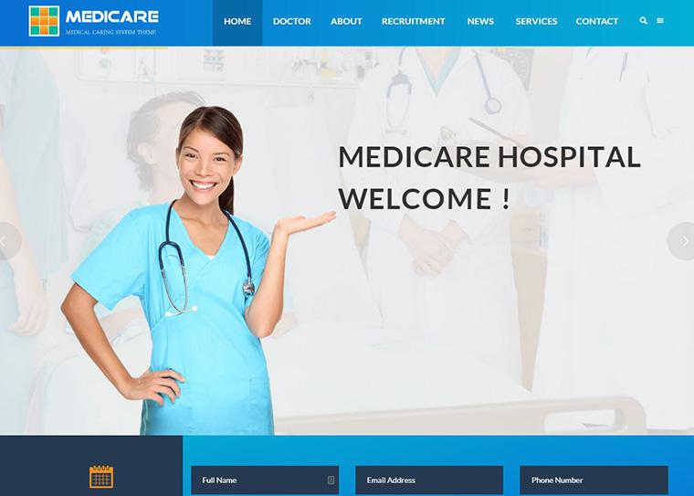 Hospital Website Design- Websites For Hospitals